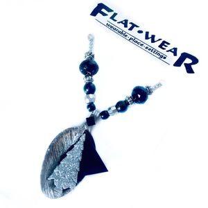 FLATWEAR | By Nancy Puckett Handmade Necklace